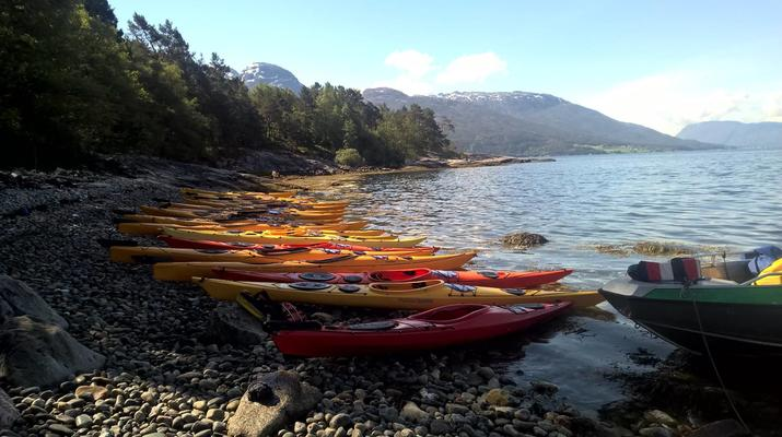 Kayak de mer-Jondal-Kayak de mer dans le fjord de Jondal-3