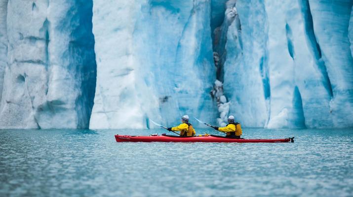 Senderismo en Hielo-Rosendal-Glaicer kayak en el glaciar Møsevass-6