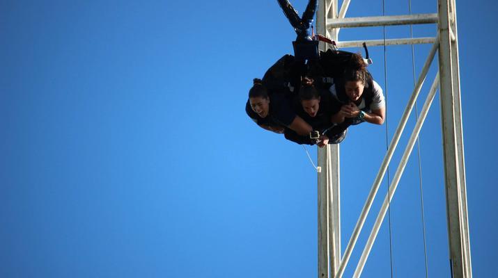 Bungee Jumping-Rotorua-The 'Swoop' in Rotorua-6