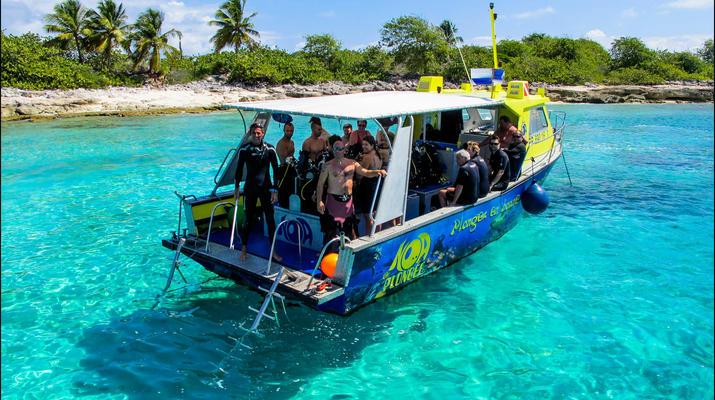 Plongée sous-marine-Saint-François-Baptême de Plongée à Saint-François, Guadeloupe-6