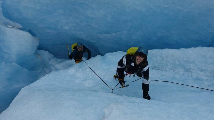 Senderismo en Hielo-Rosendal-Glaicer kayak en el glaciar Møsevass-5