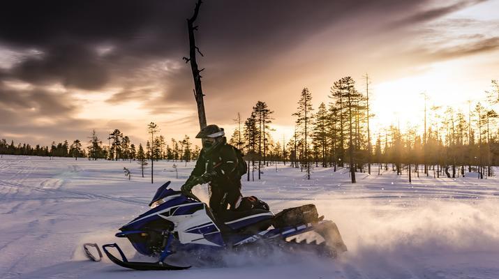 Snowmobiling-Kiruna-Overnight Aurora Hunter Snowmobile Adventure, near Kiruna-1