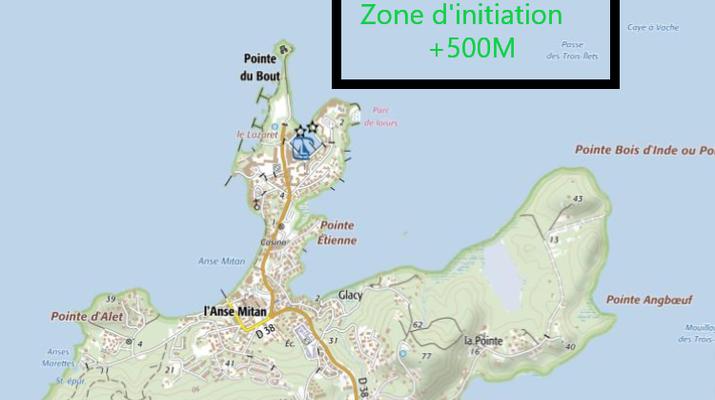 Jet Ski-Les Trois-Îlets-Initiation jet ski aux Trois Îlets, Martinique-6