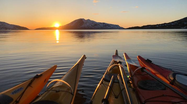 Sea Kayaking-Tromsø-Summer Kayaking with Arctic Camp, near Tromsø-3