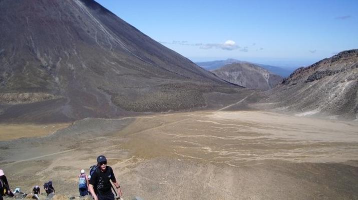 Glacier hiking-Taupo-Tongariro Crossing equipment rental and shuttle-6
