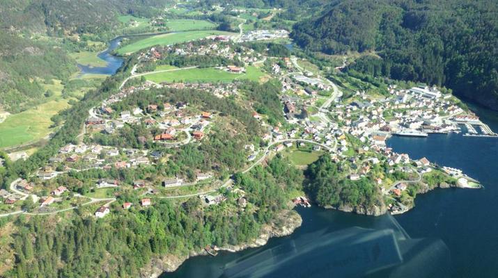 Helicoptère-Bergen-Tour en hélicoptère de Trolltunga à Bergen-4