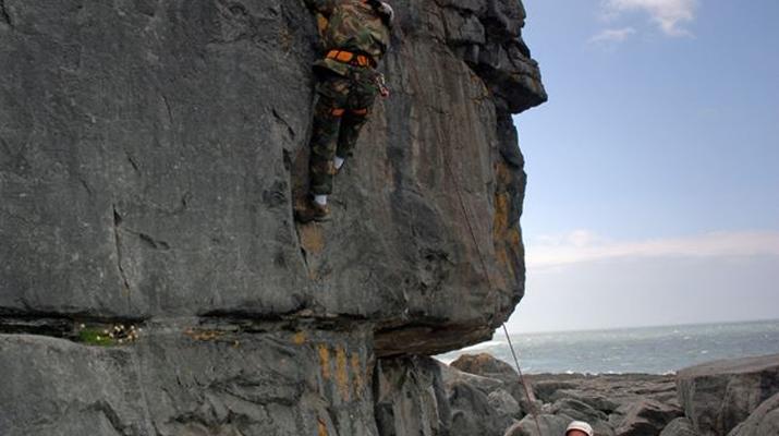 Klettern-County Clare-Felskletterkurs in der Grafschaft Clare-2