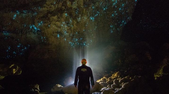 Caving-Waitomo-Glowworm Cave tour in the Waitomo Caves-1