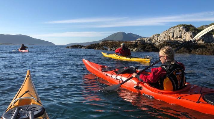 Sea Kayaking-Tromsø-Summer Kayaking with Arctic Camp, near Tromsø-2