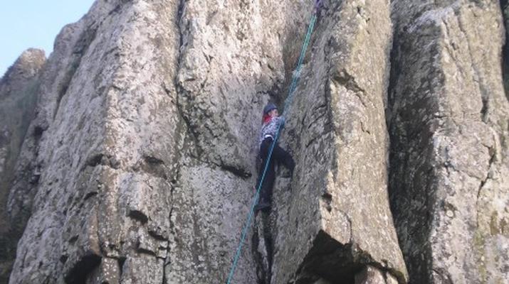 Klettern-County Clare-Felskletterkurs in der Grafschaft Clare-5