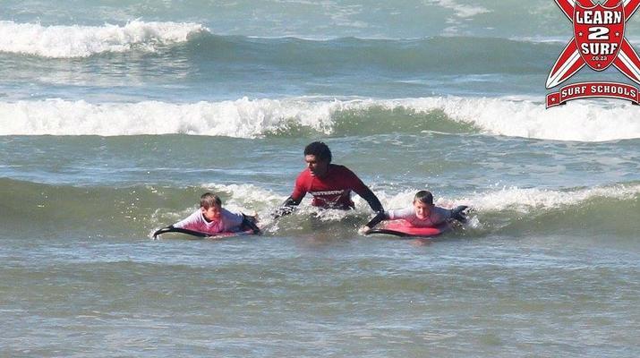 Surfing-Knysna-Learn to Surf in Buffels Bay, Knysna-4