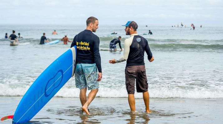 Surfing-Tamarindo-Private surfing lessons in Tamarindo-1