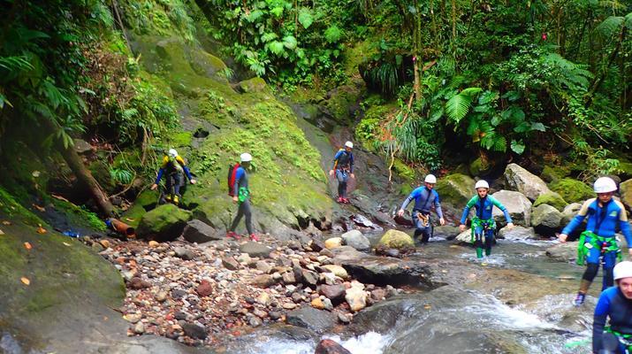 Canyoning-La Soufrière-Ti-canyon à Basse-Terre, Guadeloupe-3