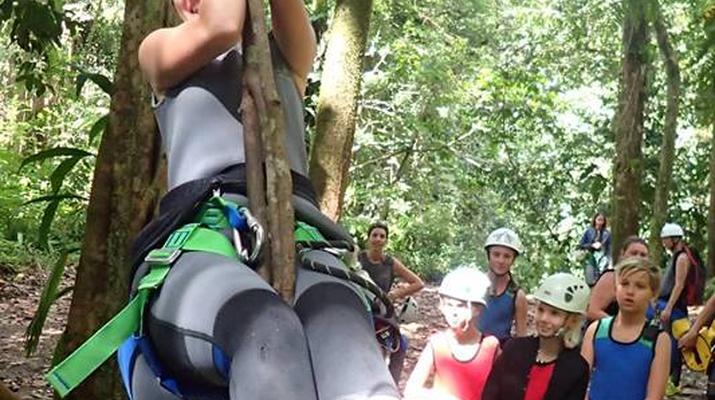 Canyoning-La Soufrière-Ti-canyon à Basse-Terre, Guadeloupe-9