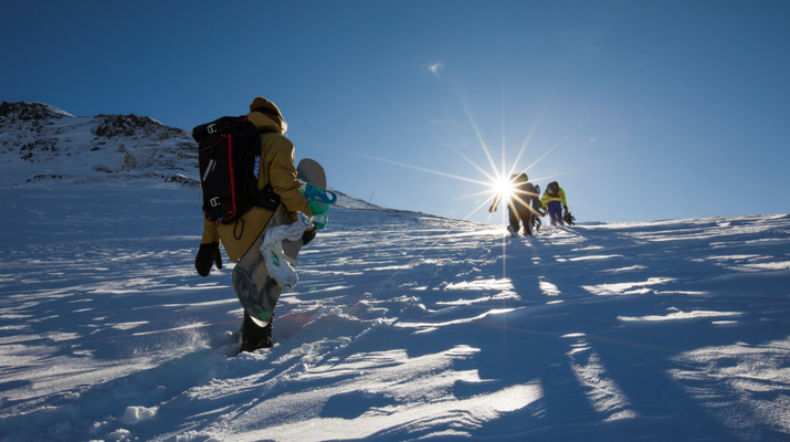 Estilo libre en snowboard-Val d'Aran-Snowboard freeride en Baqueira- Beret-1