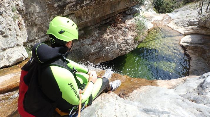 Canyoning-Lake Garda-Canyoning Tour from Vione Canyon to Lake Garda-5