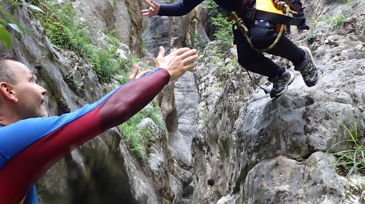 Canyoning-Lake Garda-Canyoning Tour for Beginners in Lake Garda-5