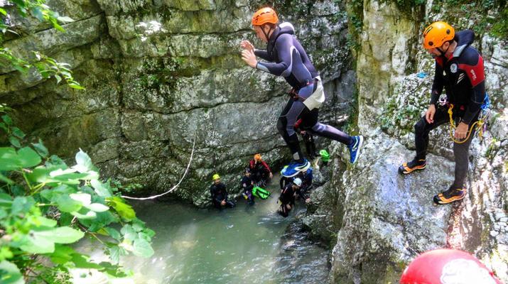Canyoning-Lake Garda-Extreme Canyoning Tour in Vione Canyon near Lake Garda-3