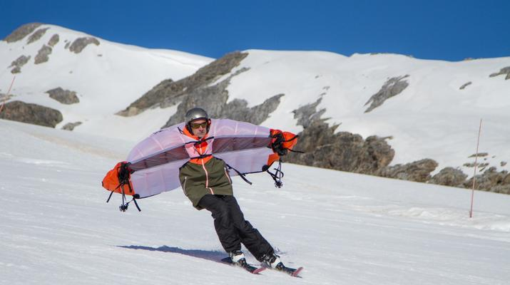 Experiencias en la nieve-Val Cenis, Haute Maurienne-Alquiler de saltos en ala en Val Cenis, Macizo de la Vanoise-4