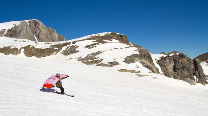 Experiencias en la nieve-Val Cenis, Haute Maurienne-Alquiler de saltos en ala en Val Cenis, Macizo de la Vanoise-1
