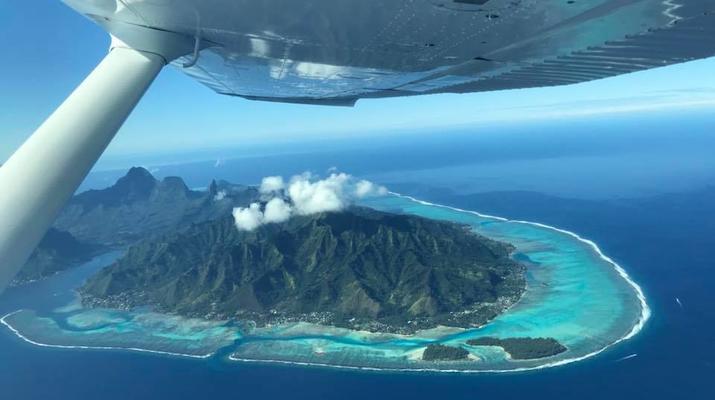 Parachutisme-Bora Bora-Saut en Parachute Tandem à Bora Bora, Polynésie Française-5