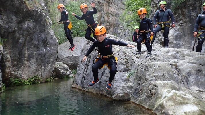 Canyoning-Lake Garda-Canyoning Tour for Beginners in Lake Garda-1