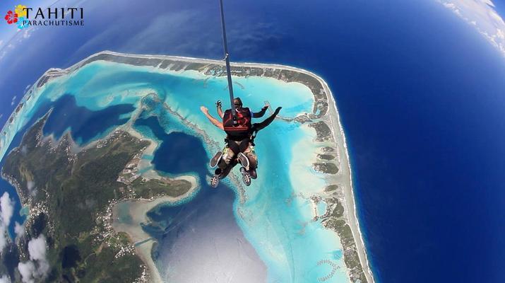 Parachutisme-Bora Bora-Saut en Parachute Tandem à Bora Bora, Polynésie Française-6