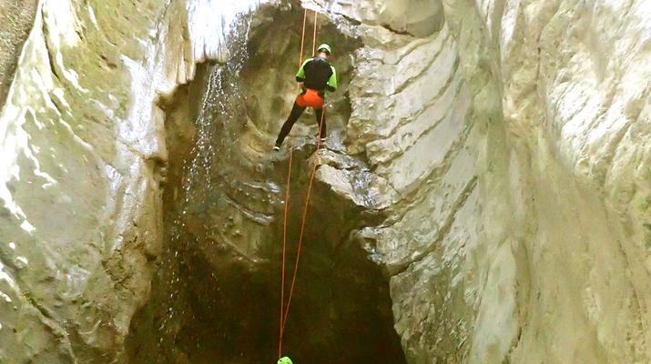 Canyoning-Lake Garda-Canyoning Tour from Vione Canyon to Lake Garda-3