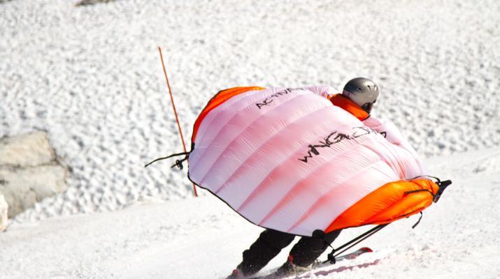 Experiencias en la nieve-Val Cenis, Haute Maurienne-Alquiler de saltos en ala en Val Cenis, Macizo de la Vanoise-2