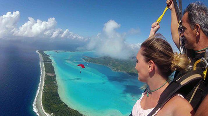 Parachutisme-Bora Bora-Saut en Parachute Tandem à Bora Bora, Polynésie Française-4