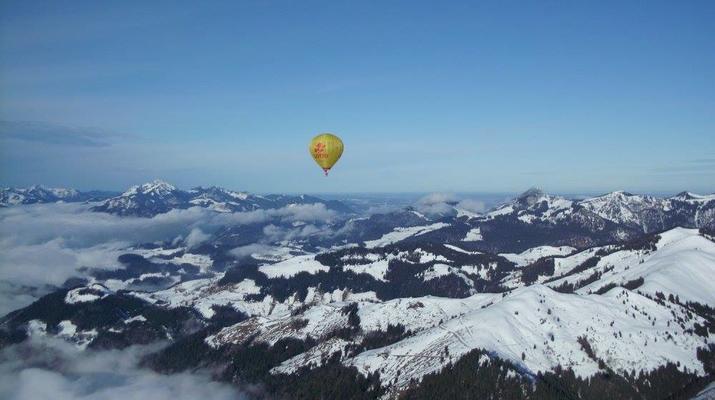 Heißluftballon-Munich-Alpenfahrt – das Winter-Special-1