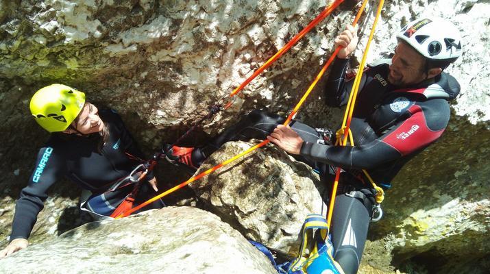 Canyoning-Lake Garda-Intermediate Canyoning Tour in Brescia near Lake Garda-1