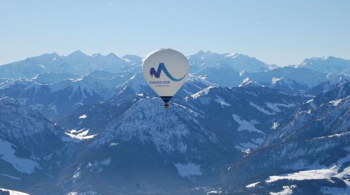 Heißluftballon-Munich-Alpenfahrt – das Winter-Special-3