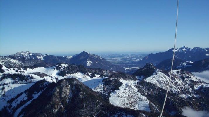 Heißluftballon-Munich-Alpenfahrt – das Winter-Special-6