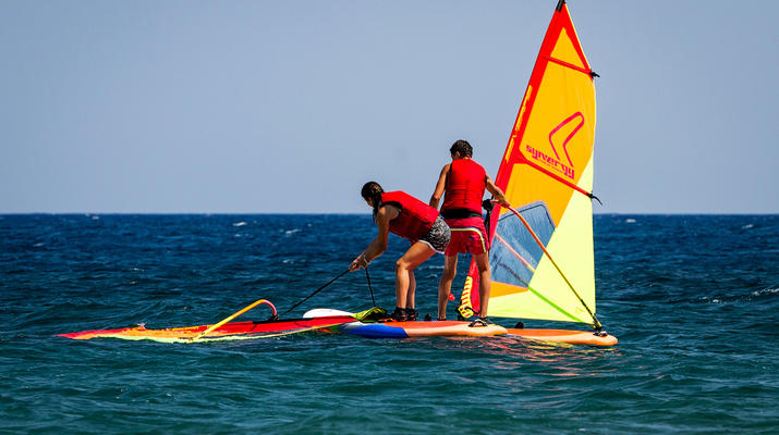 Windsurfing-Santorini-Windsurfing for beginners in Santorini-5