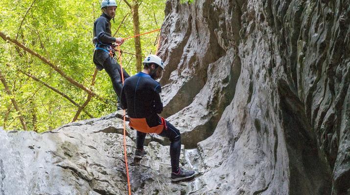 Canyoning-Lake Garda-Intermediate Canyoning Tour in Brescia near Lake Garda-2