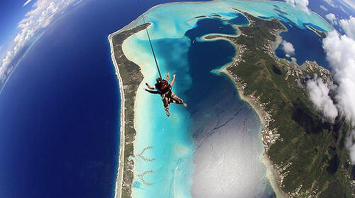 Parachutisme-Bora Bora-Saut en Parachute Tandem à Bora Bora, Polynésie Française-3
