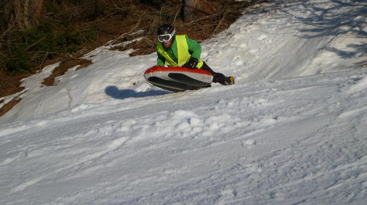 Experiencias en la nieve-Val Cenis, Haute Maurienne-Sesión de Airboard en Val Cenis, Macizo de la Vanoise-4