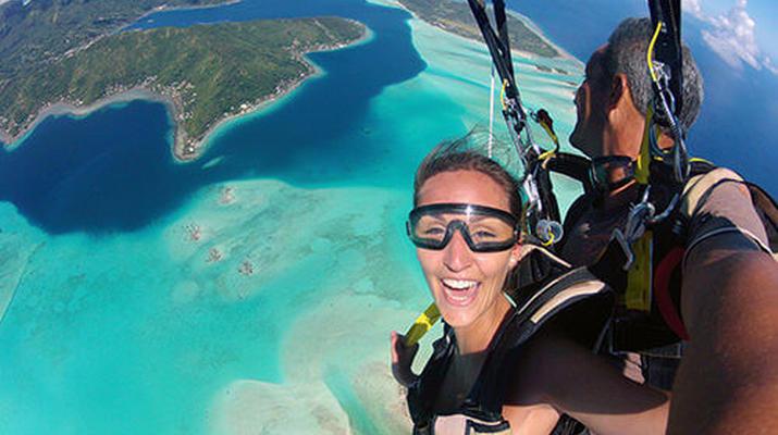 Parachutisme-Bora Bora-Saut en Parachute Tandem à Bora Bora, Polynésie Française-1