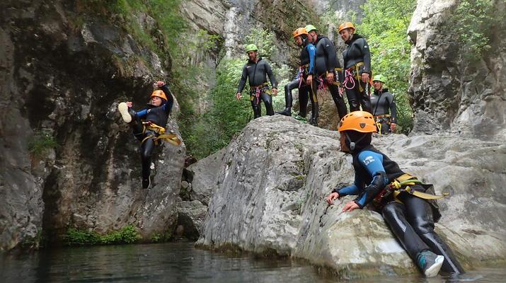 Canyoning-Lake Garda-Canyoning Tour for Beginners in Lake Garda-3
