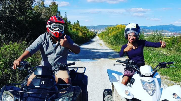 Quad biking-Malaga-Excursion en quad à Churriana, près de Málaga-5