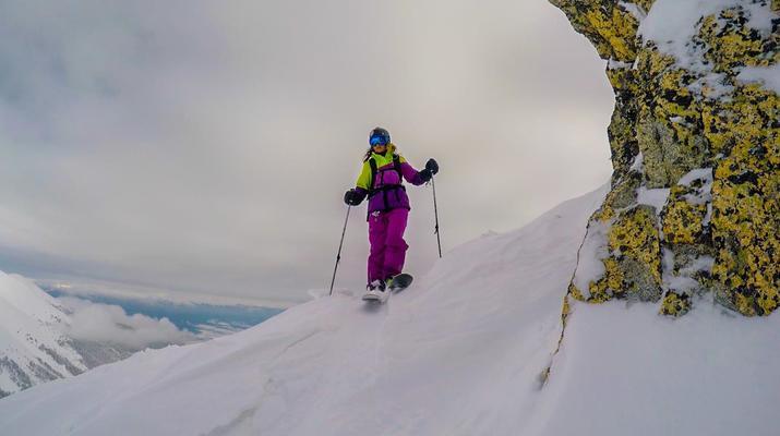Ski acrobatique-Bansko-Tour guidé de Freeride dans les montagnes de Pirin, Bankso-6