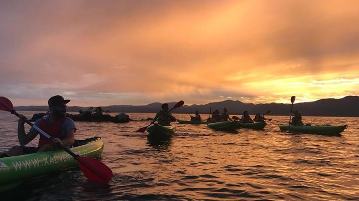 Kayaking-Lake Garda-Sunset Canoeing Trip in Lake Garda-1