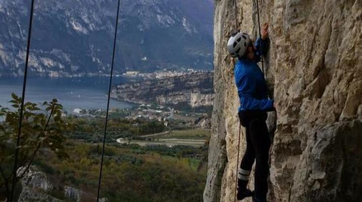 Rock climbing-Lake Garda-Introductory Rock Climbing Course near Lake Garda-4