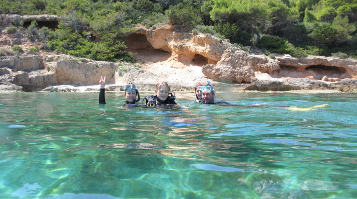 Snorkeling-Athens-Snorkeling boat excursions in Nea Makri, Athens-9