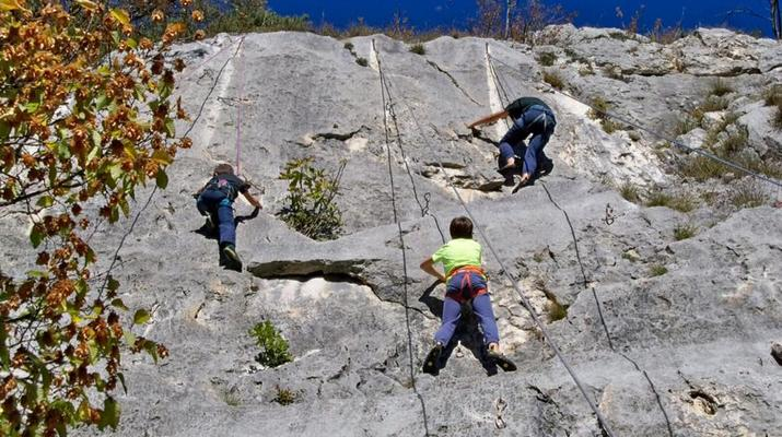 Rock climbing-Lake Garda-Private Group Rock Climbing Excursion near Lake Garda-1