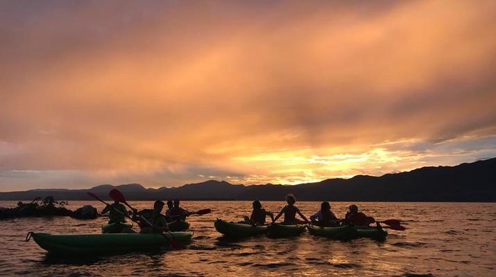 Kayaking-Lake Garda-Sunset Canoeing Trip in Lake Garda-6