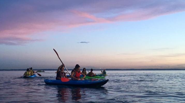 Kayaking-Lake Garda-Sunset Canoeing Trip in Lake Garda-2