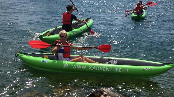 Kayaking-Lake Garda-Beginner Canoeing Trip to Bardolino in Lake Garda-5