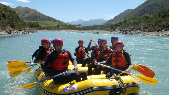 Rafting-Hanmer Springs-Waiau Gorge Rafting & Jet Boat Ride in Hamner Springs-5